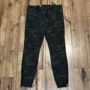 Kut from the Kloth camo jeans